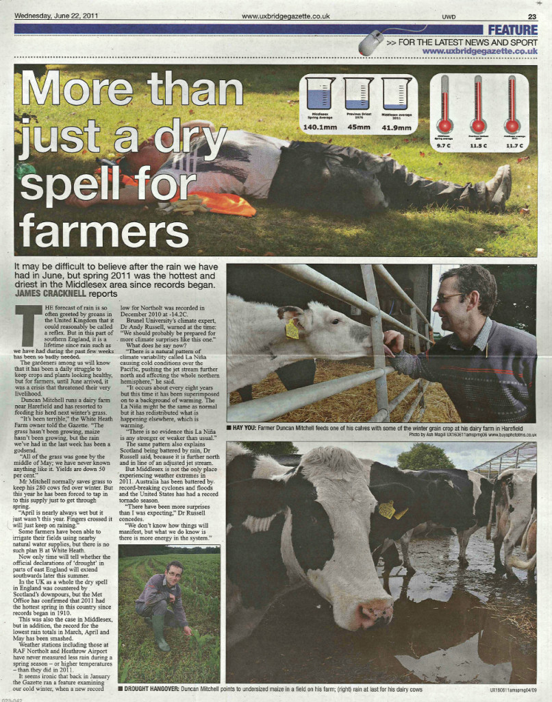 More than just a dry spell for farmers
