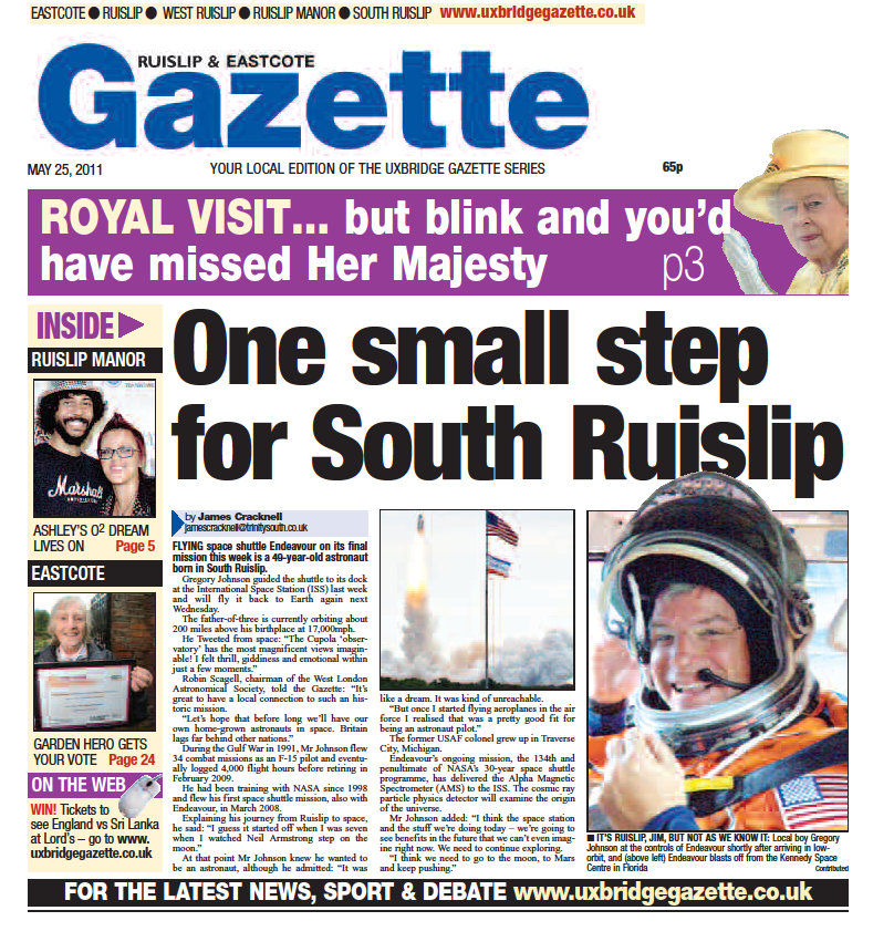 One Small Step For South Ruislip