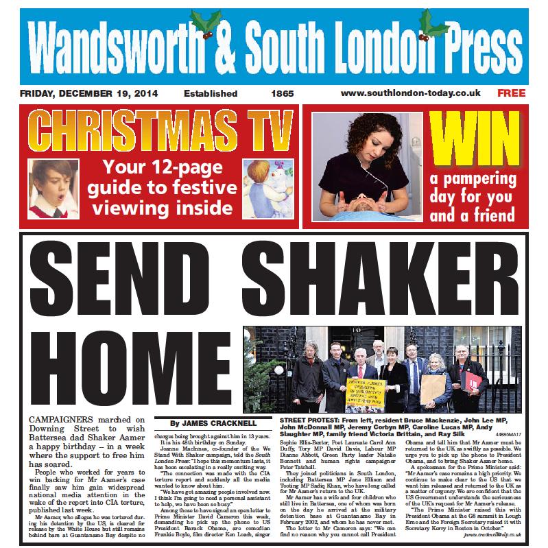 Send Shaker Home